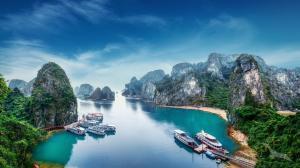 Das Beste zwischen Hongkong und Singapur: Hongkong - Halong Bucht - Nha Trang - Ho-Chi-Minh-Stadt - Laem Chabang - Ko Samui - Singapur mit der MS Amadea