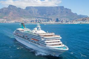 Die große Winterreise rund um Afrika mit MS Artania: Genua - Suez-Kanal - Dubai - Mumbai - Colombo - Port Louis - Sansibar - Kapstadt - Dakar - Marseille mit der MS Artania