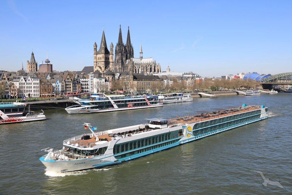 Silvesterreise auf dem Rhein: Köln - Koblenz - Straßburg - Basel - Köln mit der MS Asara