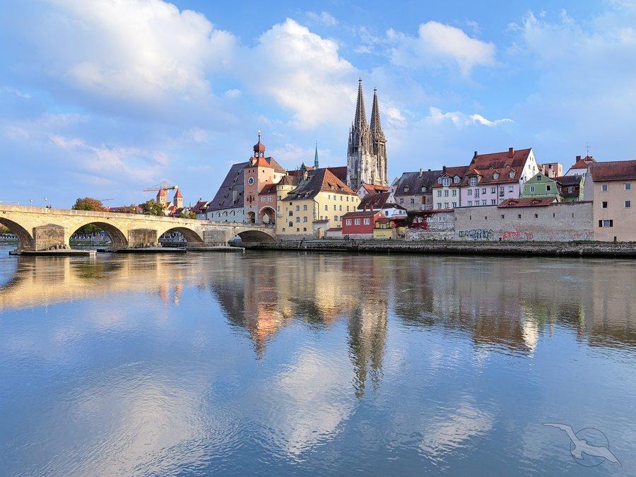 Über den Main-Donau-Kanal zu Main und Rhein: Passau - Linz - Regensburg - Kehlheim - Bamberg - Würzburg - Wertheim - Frankfurt - Rüdesheim - Köln mit der MS Aurelia